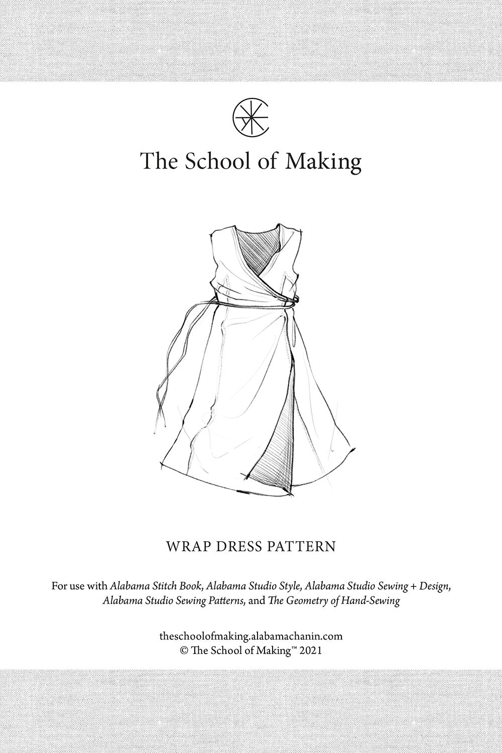 The School of Making The Wrap Dress Pattern Maker Supplies