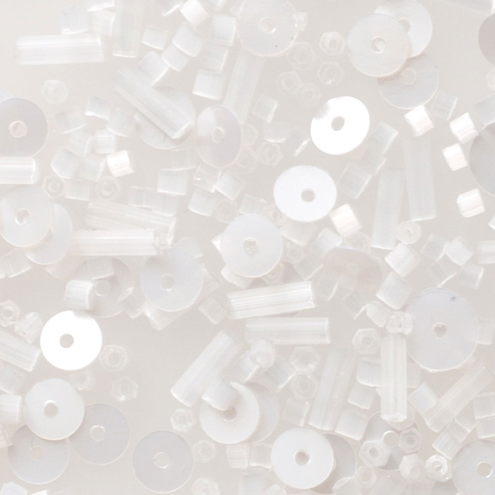 The School of Making Bead Mix in White