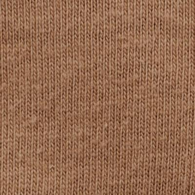 100% Organic Lightweight Cotton Jersey in Camel