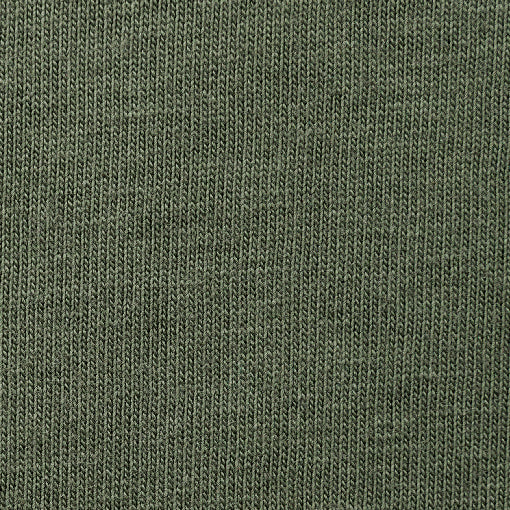 Organic Cotton Jersey in Verdant