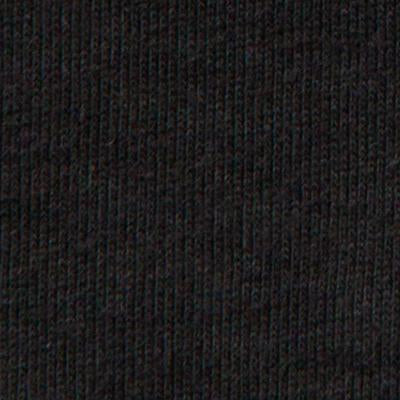 100% Organic Cotton Heavy-weight Rib in Black