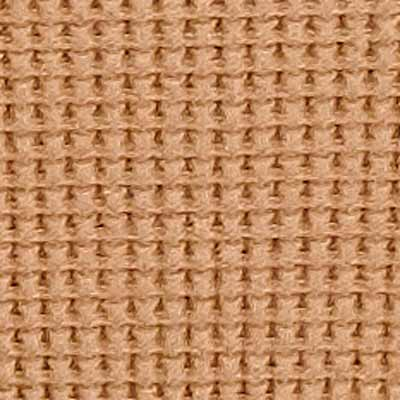100% Organic Cotton Waffle in Camel