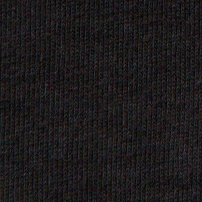 100% Organic Cotton Jersey DIY Kit in Black on Black Embroidery
