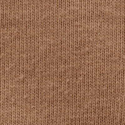 100% Organic Cotton Jersey DIY Kit in Camel on Camel Embroidery
