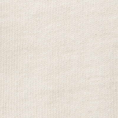 Organic Cotton Jersey DIY Kit in Natural on Natural Embroidery