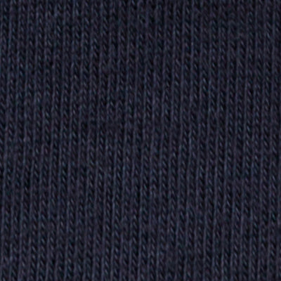 100% Organic Cotton Jersey Embroidery Kit in Navy on Navy