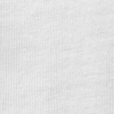 Organic Cotton Jersey in White on White Embroidery