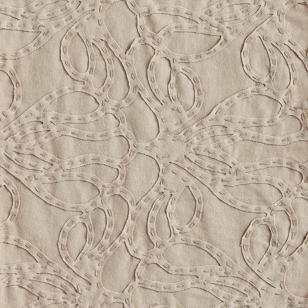 Alabama Chanin 100% Organic Cotton Jersey in Wax with Wax Lace-Inspired Applique