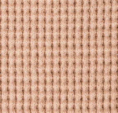 100% Organic Cotton Waffle in Vetiver