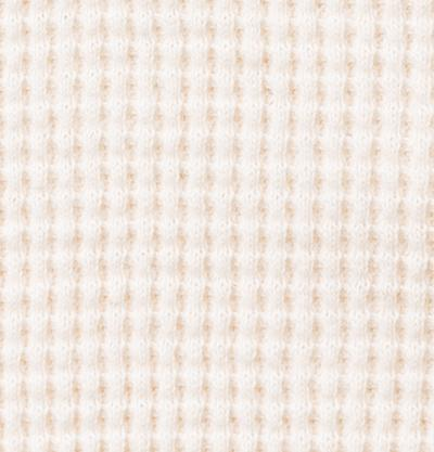 100% Organic Cotton Waffle in Natural