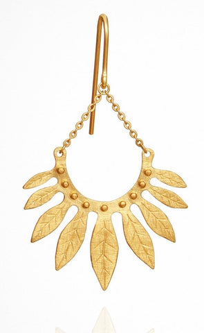Carissa Earrings Gold