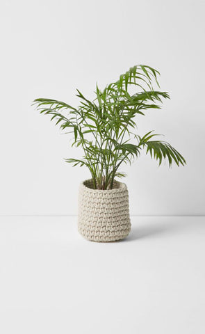 Aura Crochet Natural Baskets