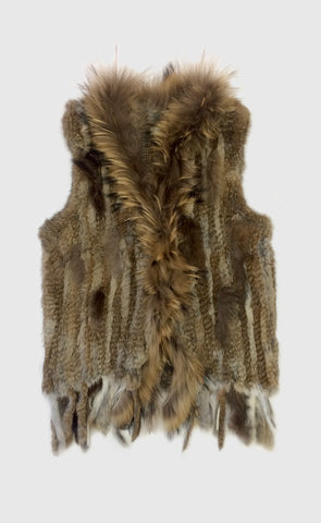Rabbit Gillet Natural