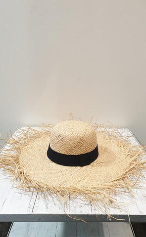 Summer Fringed Wide Brim