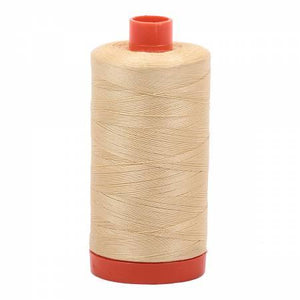 Aurifil 50wt Wheat 2125