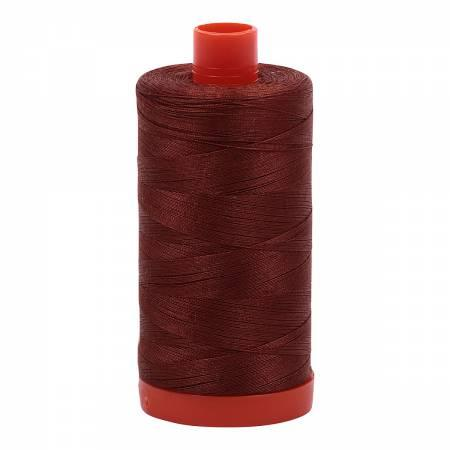 Aurifil 50wt Copper Brown4012