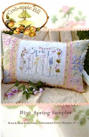 Spring Sampler Pillow