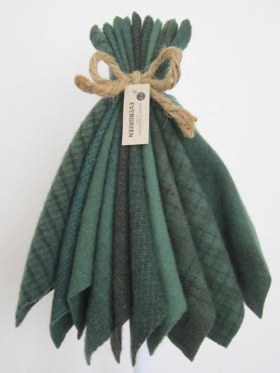 MF Woolens Evergreen