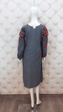 Load image into Gallery viewer, Multi-Coloured Thread Embroidered Kurti
