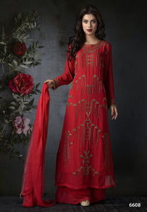 Georgette Hand Embroidery Suit Set - Kanchan Fashion Pvt Ltd