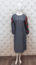 Load image into Gallery viewer, Multi-Coloured Thread Embroidered Kurti - Kanchan Fashion Pvt Ltd