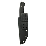 "KUBEY KNIFE Sicario KU240 Fixed Blade Knife, 5.2"" D2 Steel Blade & G10 Handle w/ Kydex Sheath"