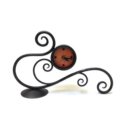 Blackthorne Forge - Table Scroll Clock
