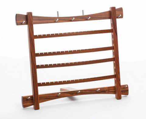 Davin & Kesler - Woodworking - Large Wood Earring Racks - Walnut