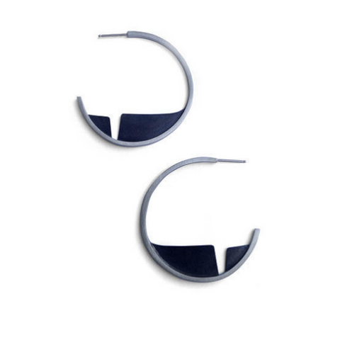 Ella Calas Jewelry - Ravine Hoop Earrings