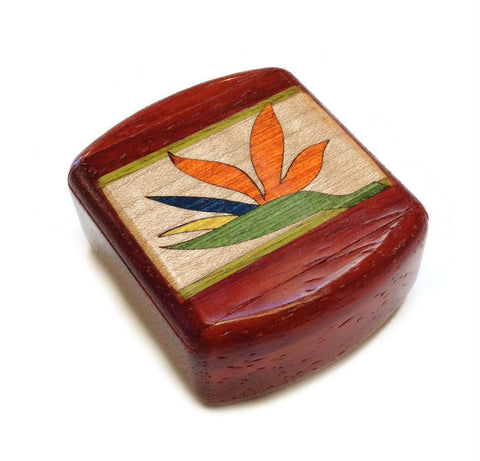 Heartwood Creations - Secret Box - Bird of Paradise Inlay