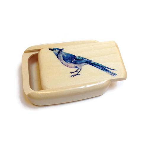 Mike Fisher - Heartwood Creations - Blue Bird Secret Box