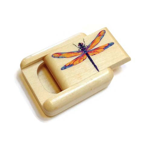 Mike Fisher - Heartwood Creations - Dragonfly Secret Box