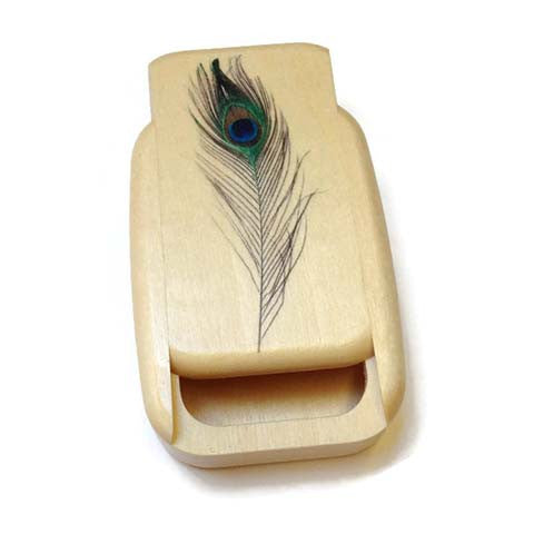 Mike Fisher - Heartwood Creations - Feather Secret Box