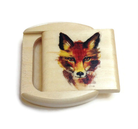 Mike Fisher - Heartwood Creations - Fox Secret Box