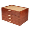 Mike Fisher - Heartwood Creations - Grand Cascade - Bubinga & Bird's-eye Maple Jewelry Box