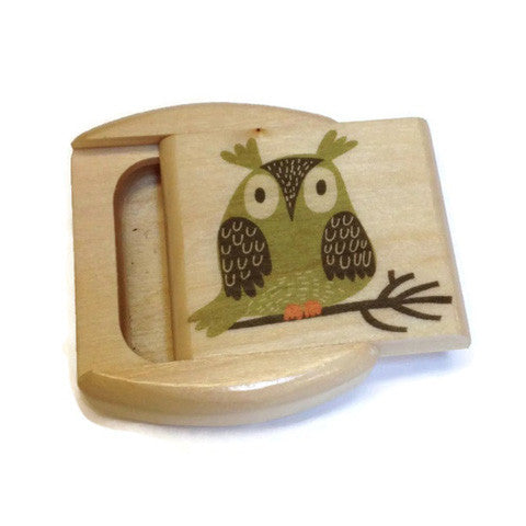 Mike Fisher - Heartwood Creations - Owl Secret Box