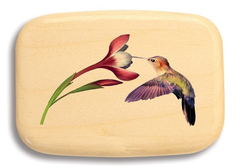 Mike Fisher - Heartwood Creations - Hummer and Flower Secret Box