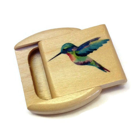 Mike Fisher - Heartwood Creations - Hummingbird Secret Box