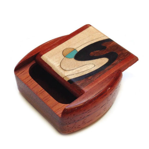 Mike Fisher - Heartwood Creations - Secret Box - Wave Inlay