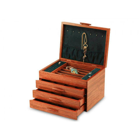Mike Fisher - Heartwood Creations - Prairie II Collection 3 Drawer Jewelry Box