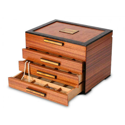 Mike Fisher - Heartwood Creations - Urban Craftsman Three Drawer Jewelry Box