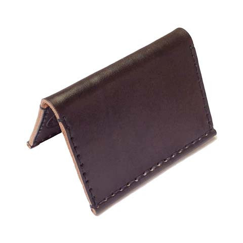 Hide and Tallow - Bifold Wallet in Dark Brown