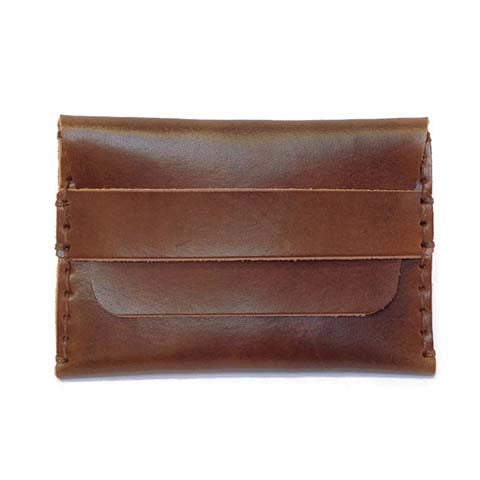 Hide and Tallow - Fold Over Wallet in Brown