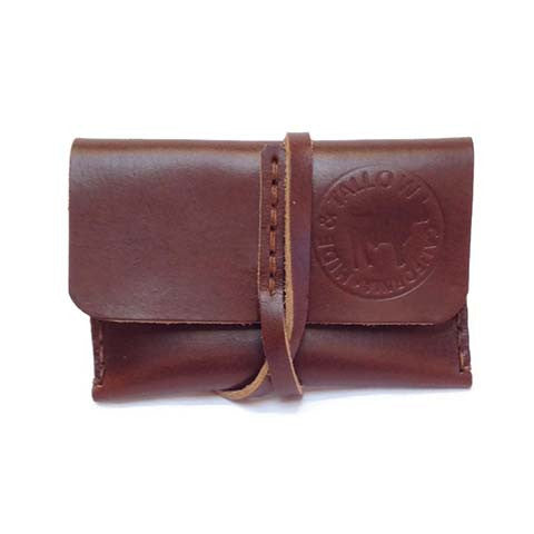 Hide and Tallow - Leather Wrap Wallet in Brown