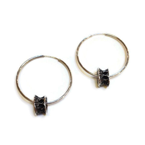 Joanna Lovett Jewelry - Bone Hoop Earrings