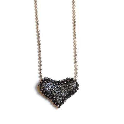 Joanna Lovett Jewelry - Floating Heart Necklace