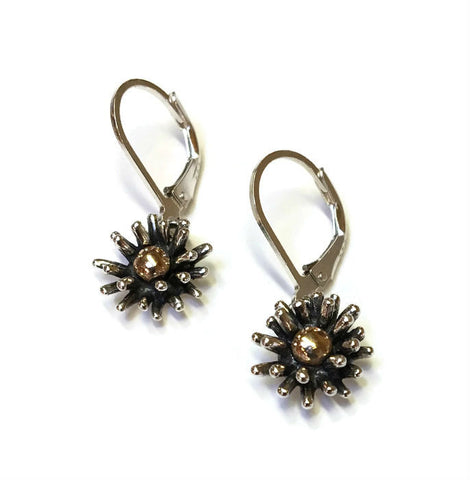 Joanna Lovett Jewelry - Small Flower Splash Earrings