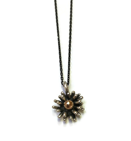 Joanna Lovett Jewelry - Tiny Flower Splash Pendant
