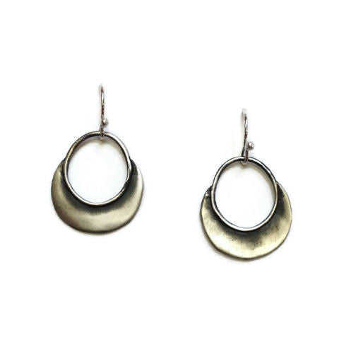 Julia Britell Jewelry - Crescent Moon Earrings