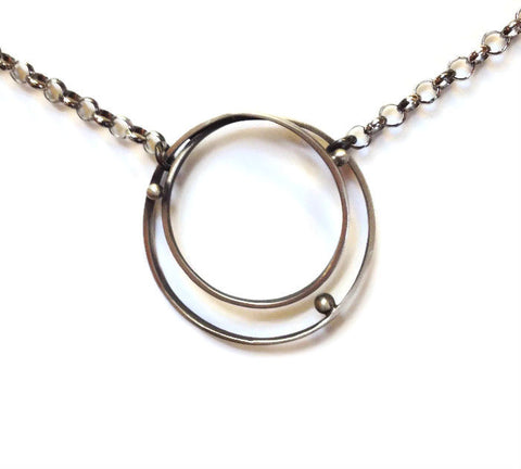 Julia Britell Jewelry - Circles Necklace